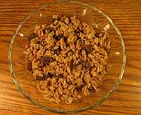 Healthy Cereal - Oatmeal Raisin Cookie flavor