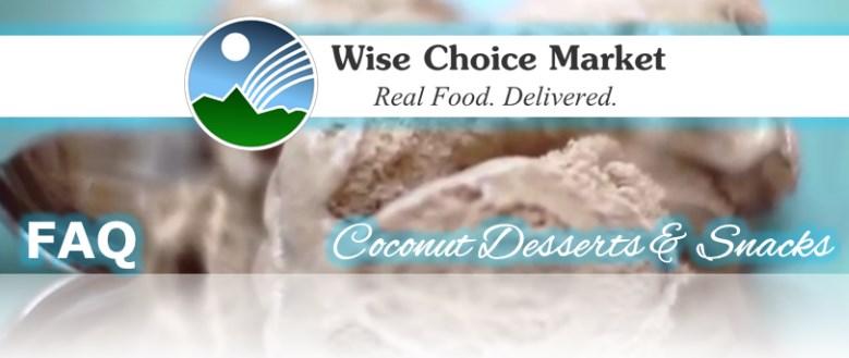 Coconut Desserts & Snacks FAQ